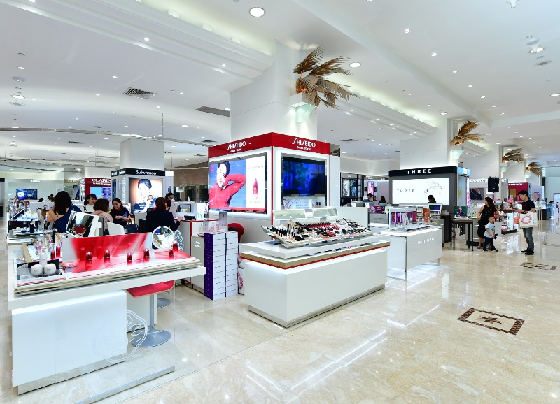 takashimaya shiseido beauty counter