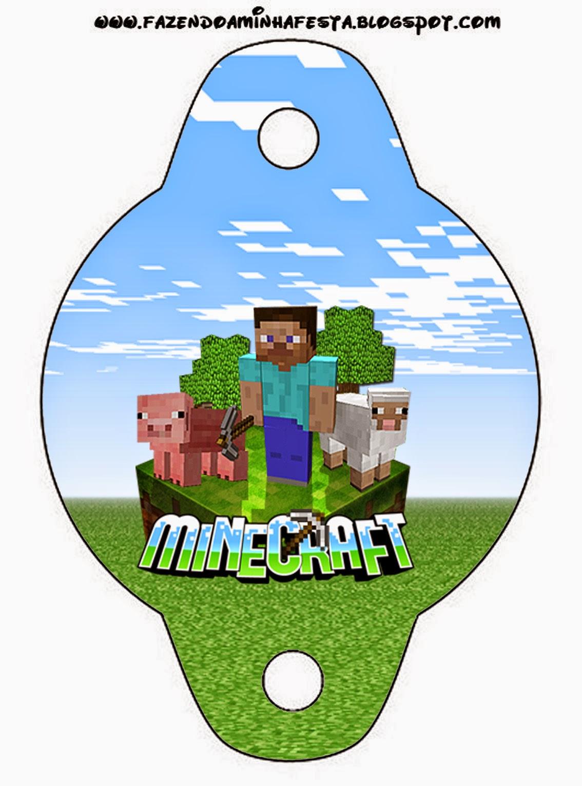 Minecraft Imprimibles Imgenes y Fondos Gratis para