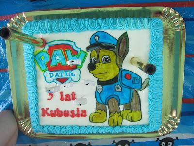 5 urodziny Kubusia z Psim Patrolem