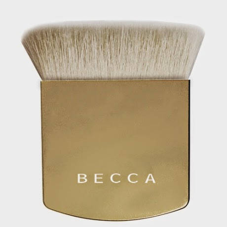 BECCA Holiday Collection One Perfecting Brush in Limited Edition Gold