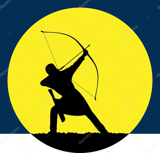Archers Hunting At Dawn Sports Petitions In Archery Logo For The  Archer