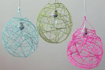 Unik Cara Membuat Lampion dari Benang Wol Mudah dan Singkat