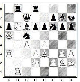 Problema ejercicio de ajedrez número 838: Larsen - Adams (Londres, 1989)