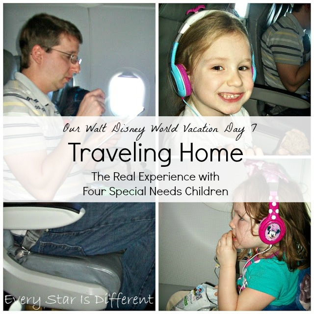 Traveling Home from Walt Disney World with Special Needs