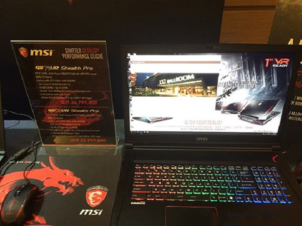Wow ! MSI Keluarkan Laptop Gaming GT83VR Titan SLI Siap Saingi ASUS ROG Termahal!