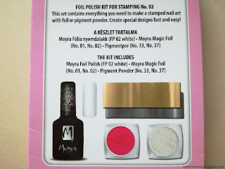 Moyra Foil stamping set