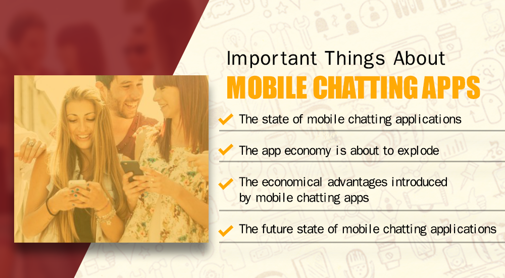 Important things about mobile chatting apps