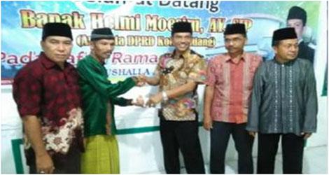 Helmi Moesim  : Jalan Merupakan 10 Ungulan  Prorgam Wali Kota Padang