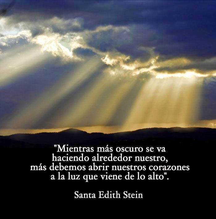 Amor Eterno Santa Teresa Benedicta De La Cruz Edith Stein