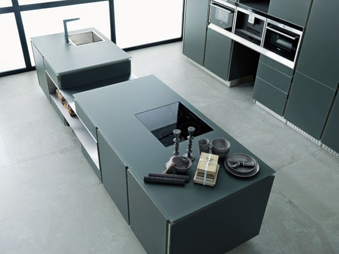 cuisine gris anthracite. Black Bedroom Furniture Sets. Home Design Ideas