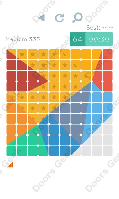 Cheats, Walkthrough for Blocks and Shapes Medium Level 335