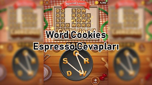Word Cookies Espresso Cevaplar