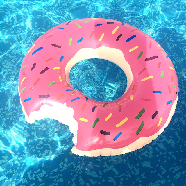 donut rubber dingy