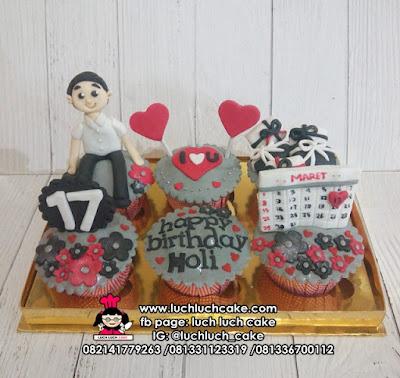 Cupcake Anak Cowok 17 Tahun