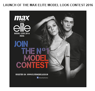 Elite brings Elite Model Look (EML) - LAUNCH OF THE MAX ELITE MODEL LOOK CONTEST 2016