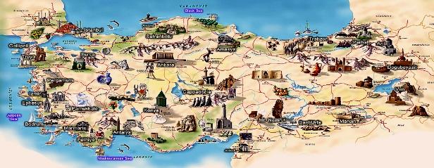 Türkiye Gezilecek Yerler