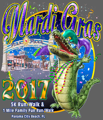 Panama City Beach FL 2017 Mardi Gras 5K