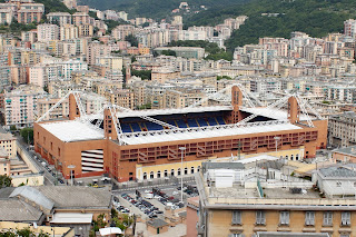 Genoa Cricket and Football Club has played at the  Stadio Luigi Ferraris since 1911