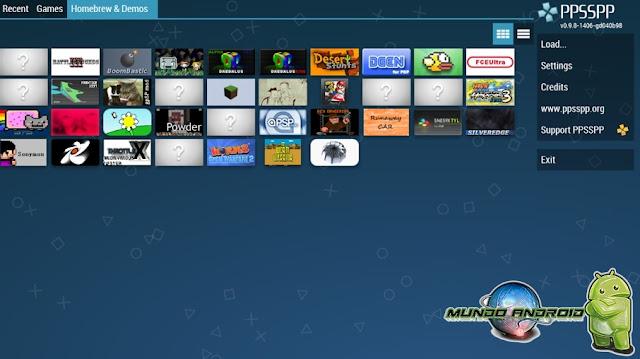 Visualización de PPSSPP Gold - PSP Emulador
