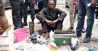 Police Arrest Fake Medical Doctor in Lagos