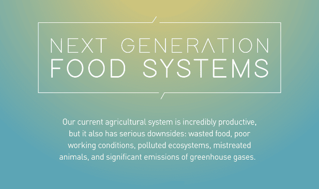 Next Generation Food System