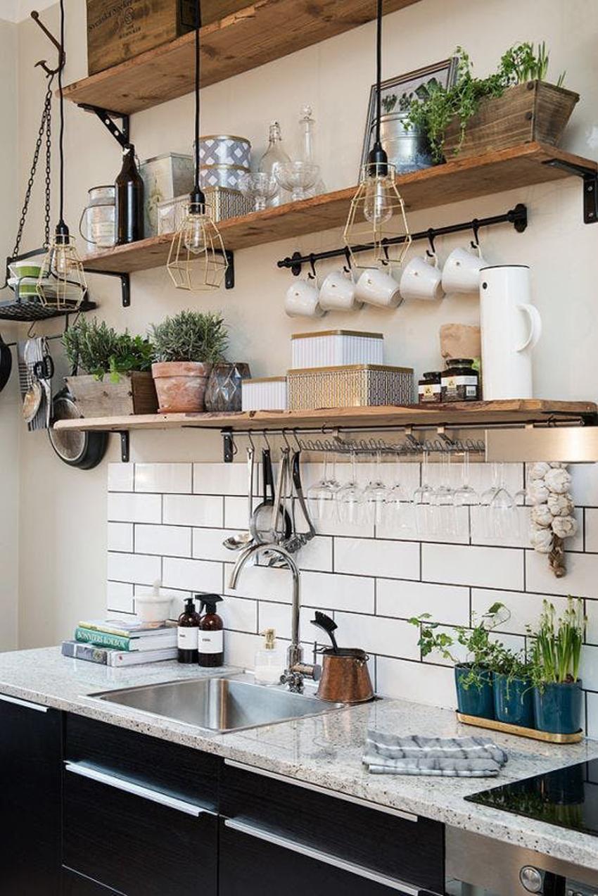 lampara cocina original