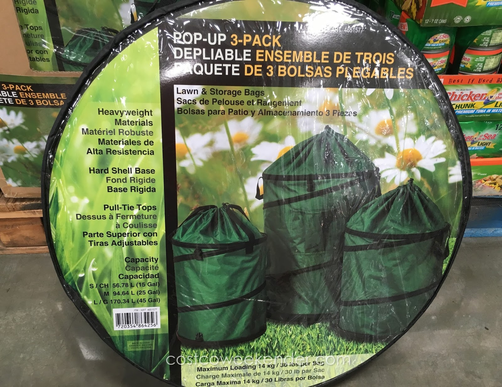 Stylecraft Collapsible Pop Up Lawn And Storage Bags 3