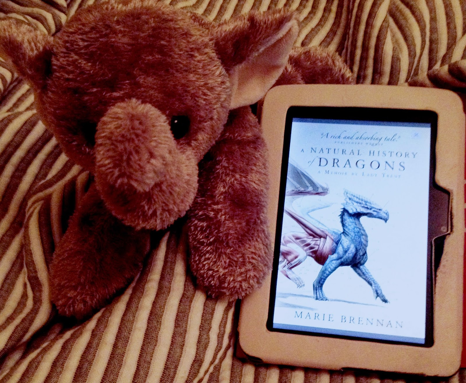 Blue Striped Square: Book review 5// A Natural History of Dragons: A