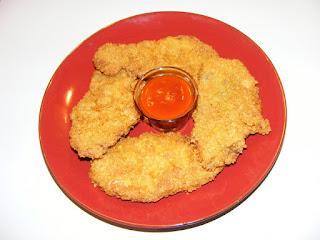 retete crispy strips fast food, reteta crispy strips, retete de mancare, snitel crocant de porc, gustari, retete de porc,