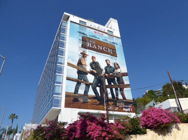 The Ranch giant launch billboard