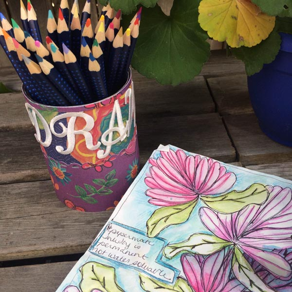 Creating with Joy: Upcycled Pencil Cup