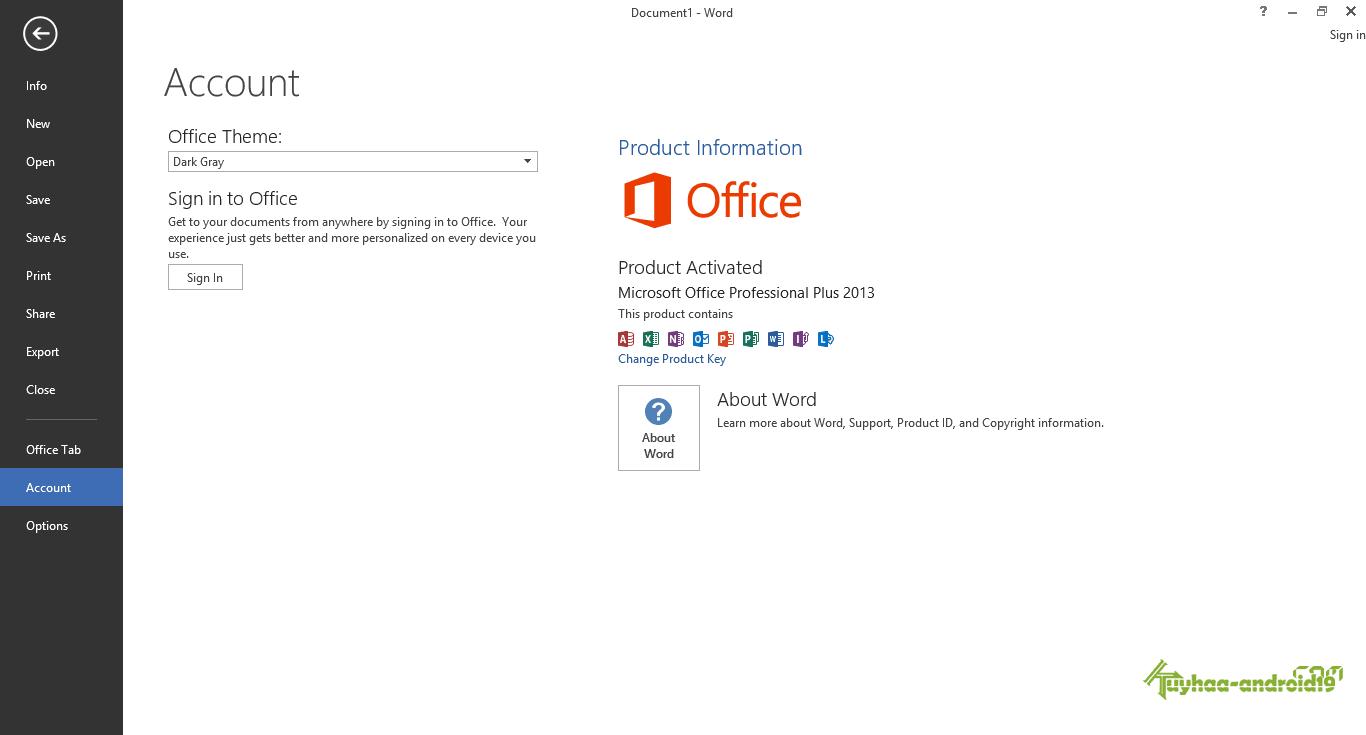 Microsoft Office 2013 Full AIO
