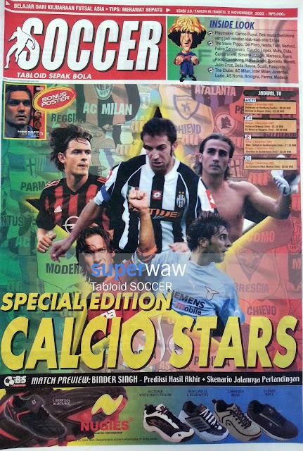 Tabloid SOCCER Calcio Stars