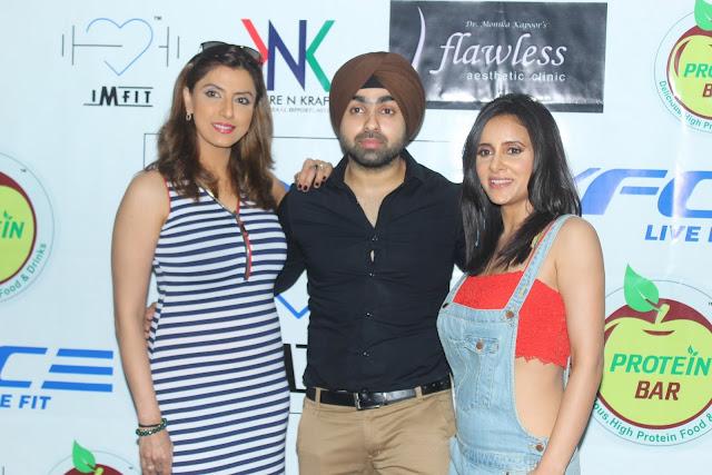 Jyoti Saxena, Angad Arora and Shweta Khanduri