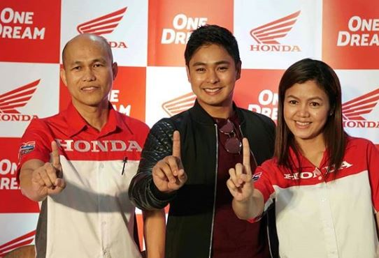 Coco Martin is the newest brand ambassador of Honda PH