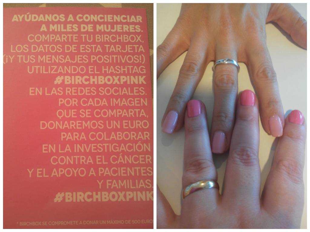 Birchbox y The Pink Peony unidos contra el cancer de mama. ¡¡Juntos sí podemos!! - Blog de Belleza Cosmetica que Si Funciona