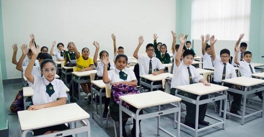 PRONIED entrega mobiliario escolar valorizado en S/ 3 millones a 20 colegios de Lima Metropolitana - www.pronied.gob.pe