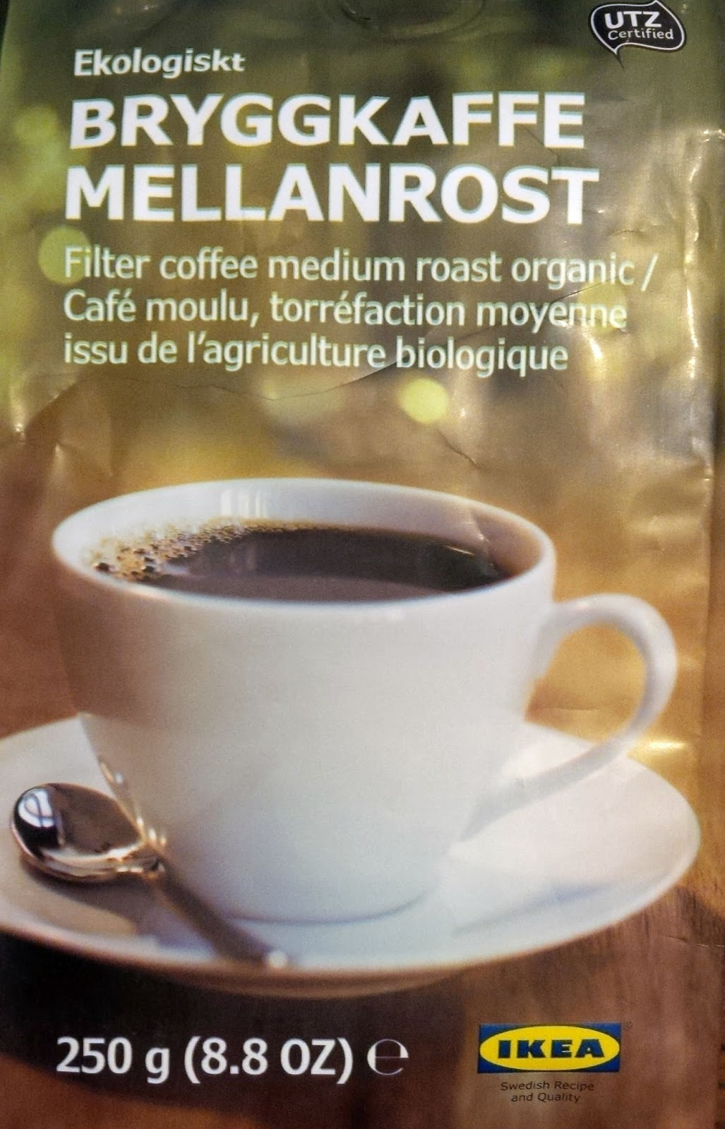 Smell the tea and coffee: Ikea Bryggkaffe Mellanrost (Filter coffee