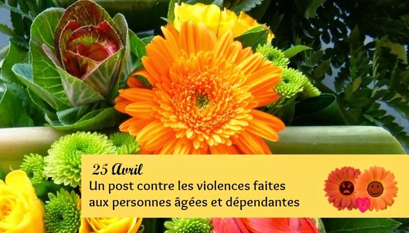 un post contre les violences faites aux personnes âgées et dépendantes