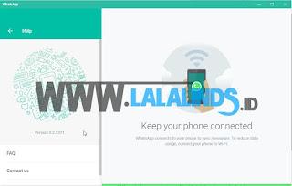 Download WhatsApp 0.2.5371 For PC Terbaru Gratis