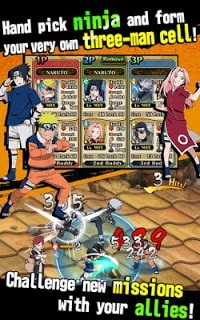 Games Ultimate Ninja Blazing Apk Mod v1.5.10 Full version