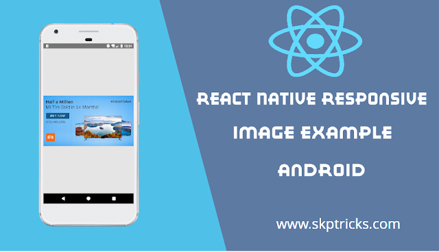 React Native Responsive Image Width and Height Example
