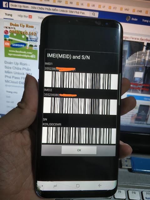 Dịch vụ độ 2 sim cho SamSung Chip Exynos Galaxy S9 Plus Note 9 S8 S8