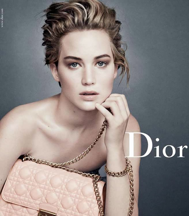 70e59b52180c76 Elle shared these great new shots of Jennifer Lawrence for Dior s latest  campaign. Check out her interview below.