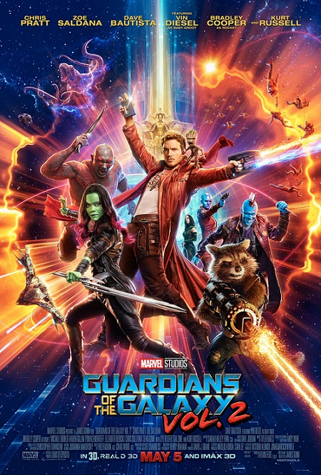 Guardians of the Galaxy Vol. 2 (Guardianes de la Galaxia Vol. 2) (2017) 720p y 1080p WEBRip mkv Dual Audio AC3 5.1 ch