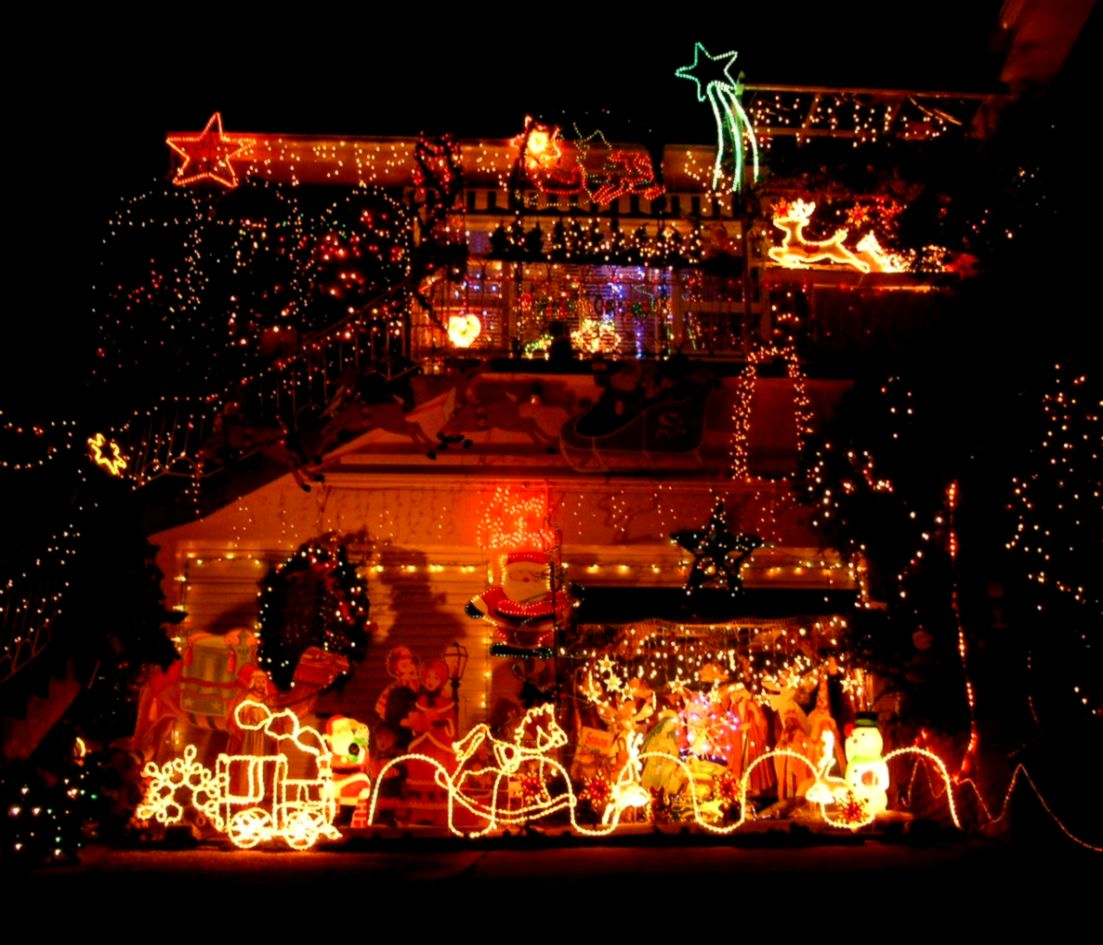 christmas holiday light yard display wallpaper top wallpapers 2-Way Light Switch Wiring Diagram