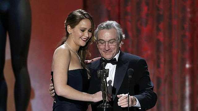 Robert de Niro y Jennifer Lawrence