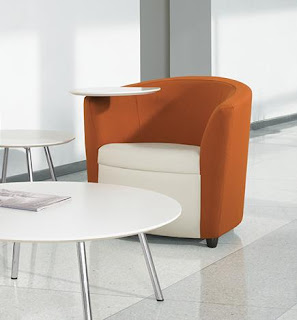 Tablet Arm Sirena Lounge Chair by Global Total Office