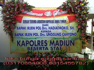 bunga papan ucapan banner selamat dan sukses
