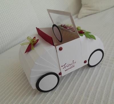 Petras Bastelideen Hochzeitsauto